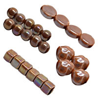 Lt. Cocoa Pearlized Beads