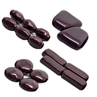Maroon Pearlized Beads