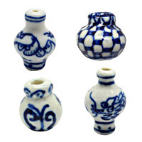 Vase Porcelain Beads