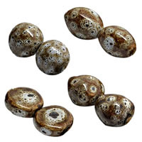 Tea White Ceramic Beads