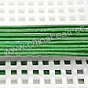 Cord Thread & Wire, Round Leather Cord, Color #5 Green, Approx 1.5mm, 100 yards per bundle, Sold by bundles