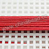 Cord Thread & Wire, Round Leather Cord, Color #2 Red, Approx 1.5mm, 100 yards per bundle, Sold by bundles