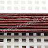 Cord Thread & Wire, Round Leather Cord, Color #3 Reddish brown, Approx 1.5mm, 100 yards per bundle, Sold by bundles