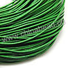 Cord Thread & Wire, Round Leather Cord, Color #5 Green, Approx 2mm, 100 yards per bundle, Sold by bundles