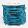 Cord Thread & Wire, Satin Cord, Color #02 deep skyblue, Approx 2mm, 50 yards per spool, Sold by spools