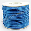 Cord Thread & Wire, Satin Cord, Color #18 skyblue, Approx 2mm, 50 yards per spool, Sold by spools