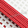 Cord Thread & Wire, Round Leather Cord, Color #2 Red, Approx 1mm, 100 yards per bundle, Sold by bundles