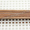 Cord Thread & Wire, Round Leather Cord, Color #1 Lt. brown, Approx 1.5mm, 100 yards per bundle, Sold by bundles