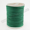 Cord Thread & Wire, Braided Cord, Veridian, Approx 1mm, 300 yards per spool, Sold by spools