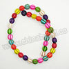 Gemstone Beads, Howlite, Multi-colored, Corrugated or fluted round, Approx 10x10mm, Hole: Approx 1-2mm, 40 pcs per strand, Sold by strands