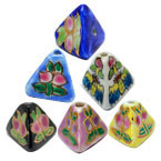 Pyramid Porcelain Beads