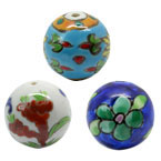 20mm Round Porcelain Beads