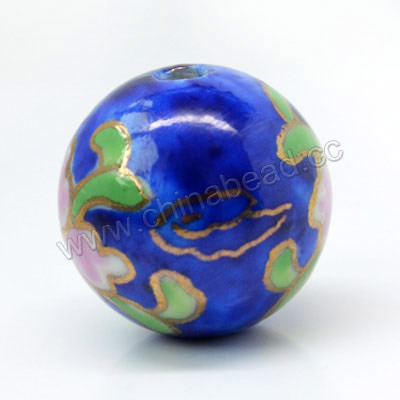 22mm Round Porcelain Beads