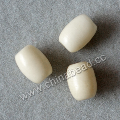 Carved Bone Beads, White, Nice smooth bead, Rice, Approx 4x5mm, Hole:Approx 2mm, Sold by PCS