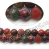 Gemstone Beads, Brecciated Jasper, Smooth round, Approx 4mm, Hole: Approx 1mm, 98 pcs per strand, Sold by Strands