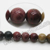 Gemstone Beads, Rainbow Jasper, Smooth round, Approx 6mm, Hole: Approx 1.5mm, 65 pcs per strand, Sold by Strands
