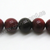 Gemstone Beads, Rainbow Jasper, Smooth round, Approx 8mm, Hole: Approx 1.5mm, 50 pcs per strand, Sold by Strands