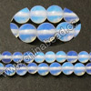 Gemstone Beads, White Opal, Smooth round, Approx 4mm, Hole: Approx 1mm, 98 pcs per strand, Sold by Strands
