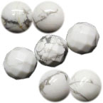 White Turquoise Beads