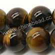 Gemstone Beads, Tigereye, Brown, Round, Approx 16mm, Hole: Approx 1mm, Sold per 16-inch strand