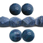 Blue Coral Beads