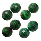 Green Malachite Beads