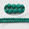 Gemstone beads, Dyed blue-green turquoise, Smooth round, Approx 2mm, Hole: Approx 0.8mm, Approx 198 pieces per strand, Sold by strands