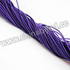 Cord Thread & Wire, Fabric Elastic Cord, Color #02 Indigo, Approx 0.8mm, 120 yards per bundle, Sold by bundles