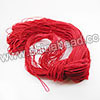 Cord Thread & Wire, Fabric Elastic Cord, Color #08 Red, Approx 0.8mm, 120 yards per bundle, Sold by bundles