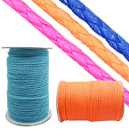 4mm Round PU Woven Cord