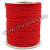Cord Thread & Wire, Braided Cord, Red, Approx 1.5mm, 160 yards per spool, Sold by spools