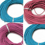 3mm Woven Leather Cord B