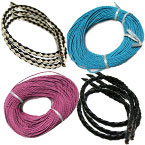 4mm Woven Leather Cord B