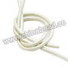 Cord Thread & Wire, Round enamel leather cord, Color #3 white, Approx 2.5mm, 100 meters per bundle, Sold by bundles