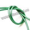 Cord Thread & Wire, Round enamel leather cord, Color #8 light green, Approx 2.5mm, 100 meters per bundle, Sold by bundles