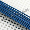 Cord Thread & Wire, Round Leather Cord, Color #11 Blue, Approx 1mm, 100 yards per bundle, Sold by bundles