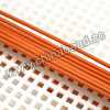 Cord Thread & Wire, Round Leather Cord, Color #15 Orange, Approx 1mm, 100 yards per bundle, Sold by bundles