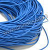 Cord Thread & Wire, Round Leather Cord, Color #16 Light blue, Approx 2mm, 100 yards per bundle, Sold by bundles