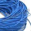 Cord Thread & Wire, Round Leather Cord, Color #16 Light blue, Approx 5mm, 50 yards per bundle, Sold by bundles