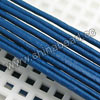 Cord Thread & Wire, Round Leather Cord, Color #11 Blue, Approx 3mm, 100 yards per bundle, Sold by bundles
