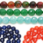 3mm Faceted Round Beads