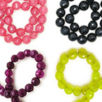 4mm Faceted Round Beads