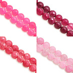 14mm Faceted Round Beads