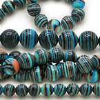 Stripy Jade Beads