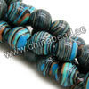 Gemstone Beads, Stripy Jade, Smooth round, Approx 20mm, Hole: Approx 1.2mm, 20pcs per strand, Sold by strands