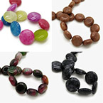 10x5mm Smooth Disc Beads