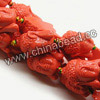 Gemstone Beads, Carved Buddha design, Orange, Approx 15x23x10mm, Hole: Approx 2mm, 15pcs per strand, Sold by strands