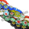 Glass chevron beads, Assorted colors, Smooth flat disc, Approx 10x4mm, Hole: Approx 1mm, 40pcs per strand, Sold by strands