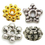 Zinc Alloy Spacer Beads