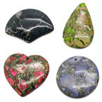 Gemstone Jasper Pendants